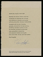 Adolfo Bioy Casares, 1914-1999 by Paul…