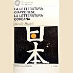 ˆLa ‰letteratura giapponese. La…