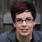 Author photo. Marieke Nijkamp, author of THIS IS WHERE IT ENDS