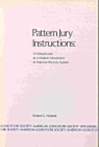 Pattern Jury Instructions: A Critical Look…