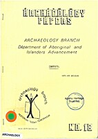 Archaeology Branch Department of Aboriginal…