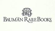 Author photo. Bauman Rare Books Company Logo