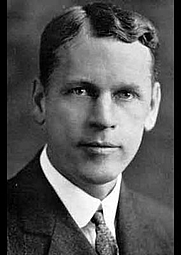 Author photo. Oswald Veblen, ca. 1915 [credit: Wikimedia Commons]