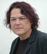 Author photo. Eileen Gunn (Photo by Leslie Howle, 2004)