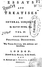 Essays and treatises on several subjects.…