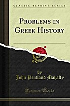Problems in Greek history (Essay index…