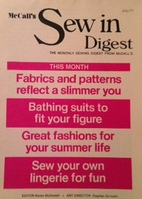 McCall's Sew in Digest, 1971 July by McCall…