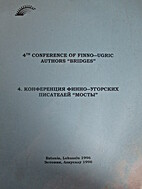 4th conference of Finno-Ugric authors…