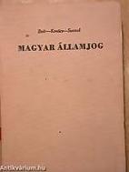 Magyar államjog egyetemi tankönyv by…