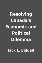 Resolving Canada's Economic and Political…