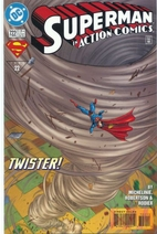 Action Comics # 722 by David Michelinie