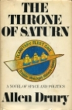The Throne of Saturn by Allen Drury