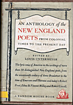 An Anthology of the New England Poets from…