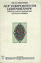 Fühlen und Hören by Hermann Dekker