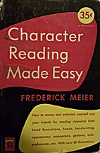 Character Reading Made Easy: How to Amuse…