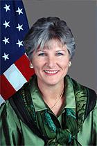 Author photo. Karen P. Hughes, U.S. State Dept.