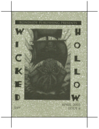 WICKED HOLLOW Issue 6 by Jon Hodges (editor)