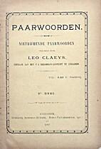 Paarwoorden nietrijmende paarwoorden by L.…
