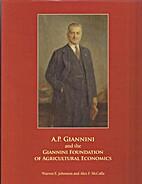 (zz-g) A. P. Giannini and the Giannini…
