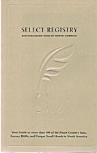 Select Registry Distinguished Inns Of North…