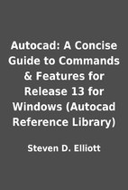 Autocad: A Concise Guide to Commands &…