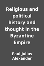 Religious and political history and thought…