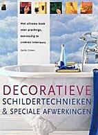 Decoratieve schildertechnieken & speciale…