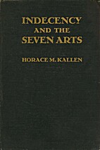 Indecency and the seven arts, and other…