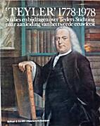 Teyler 1778-1978 : studies en bijdragen…