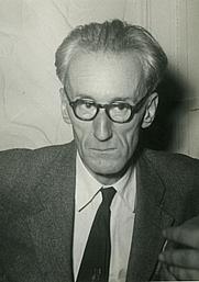 Author photo. Józef Czapski, Berlin, 1950