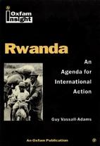 Rwanda : an agenda for international action…