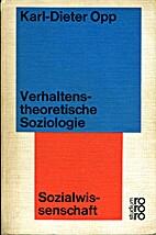 Verhaltenstheoretische Soziologie : eine…