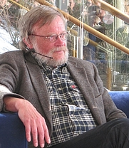 Author photo. Tore Pryser (2013)<br>Photo: Wikipeida user Ulflarsen