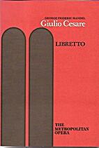 Giulio Cesare in Egitto: Libretto by David…