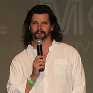 Author photo. Ronald D. Moore at a Battlestar Galactica Convention on August 27, 2006 in Burbank, California, taken by Cbrown1023's father. <a href=&quot;http://en.wikipedia.org/wiki/File:RonaldDMoore.jpg&quot; rel=&quot;nofollow&quot; target=&quot;_top&quot;>http://en.wikipedia.org/wiki/File:RonaldDMoore.jpg</a>