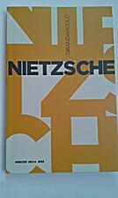 Nietzsche by Tommaso Tuppini
