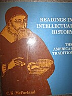 Readings in intellectual history; the…