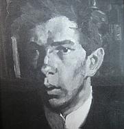 Author photo. Theodor Heuss, portrait by Albert Weisgerber (1878-1915)