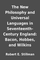 The New Philosophy and Universal Languages…