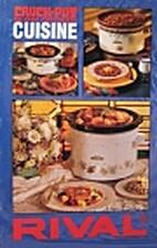 Rival Crock-Pot Slow Cooker Cuisine Cook…