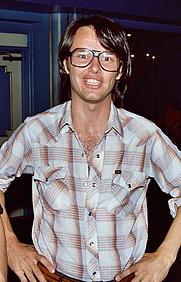 Author photo. San Diego Comic-Con 1982, photo by Alan Light