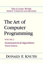 The Art of Computer Programming, Volume 2:…