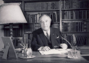 Author photo. Victor Eftimiu. Photo owned by The National History Museum of Romania.