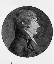 Author photo. Engraving by Charles Balthazar Julien Fevret de Saint-Mémin, 1806 (LoC Prints and Photographs, LC-USZ62-132475)