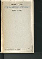 Geschichte und Geschicke, zwölf Essays by…