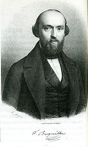 Author photo. Portrait of musician Johan Friedrich Franz Burgmüller, about 1840.