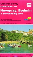 Landranger Map 200: Newquay and Bodmin by…