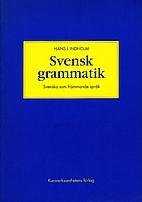 Svensk grammatik : svenska som främmande…