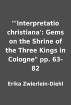 'Interpretatio christiana': Gems on the…