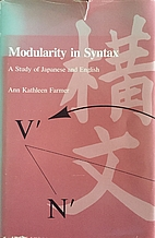 Modularity in syntax : a study of Japanese…